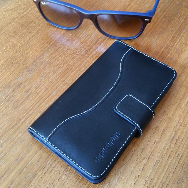 Fliptroniks Galaxy S5 Genuine Leather Case