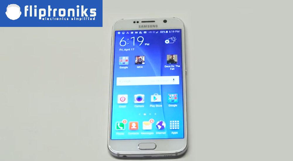 How To Take Samsung Galaxy S6 Screen Shot / Capture / Print
