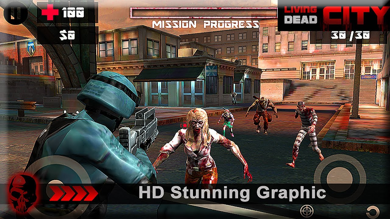 Living Dead City Galaxy S6 Gameplay - Fliptroniks.com
