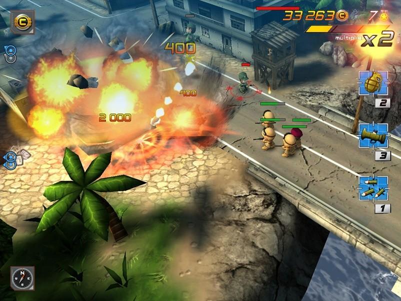 Tiny Troopers 2 Galaxy S6 Gameplay - Fliptroniks.com