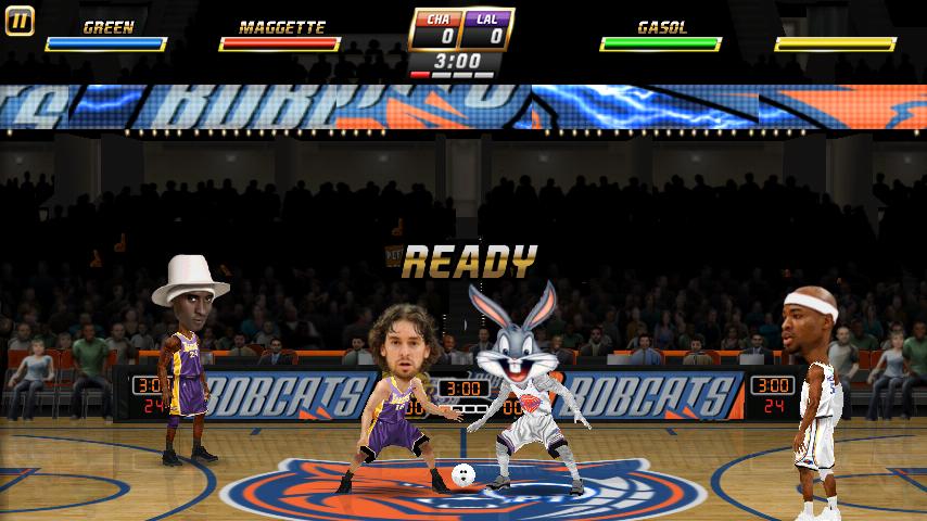 NBA Jam Galaxy S6 Edge Gameplay - Fliptroniks.com