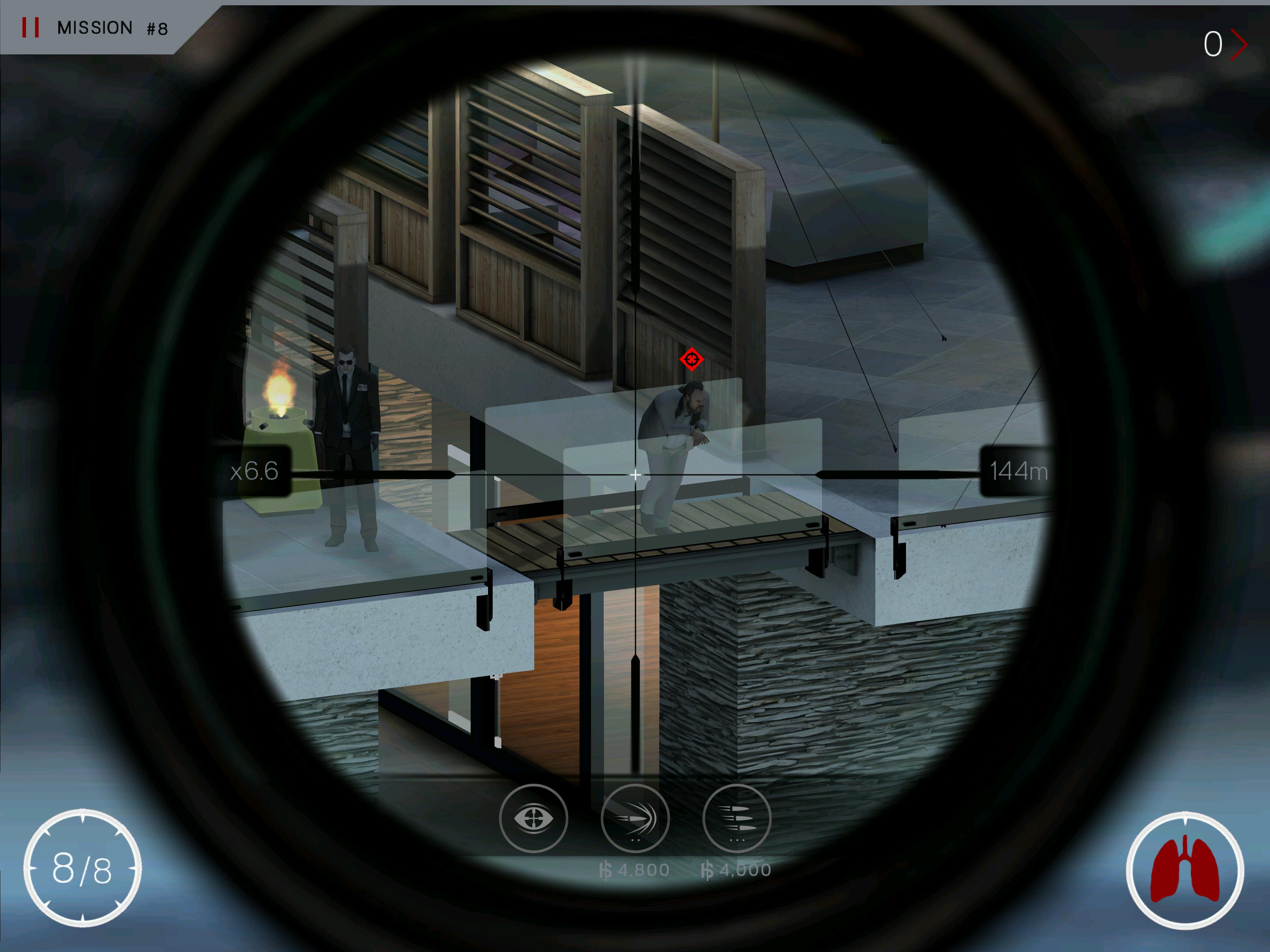 Hitman Sniper Galaxy S6 Gameplay - Fliptroniks.com