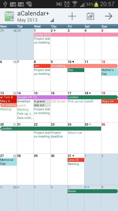 Best Calendar App for Galaxy S6 - Fliptroniks.com
