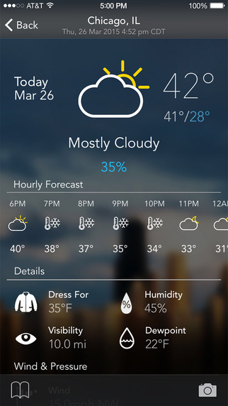 Best weather app for your iphone fliptroniks for Application iphone temperature interieur