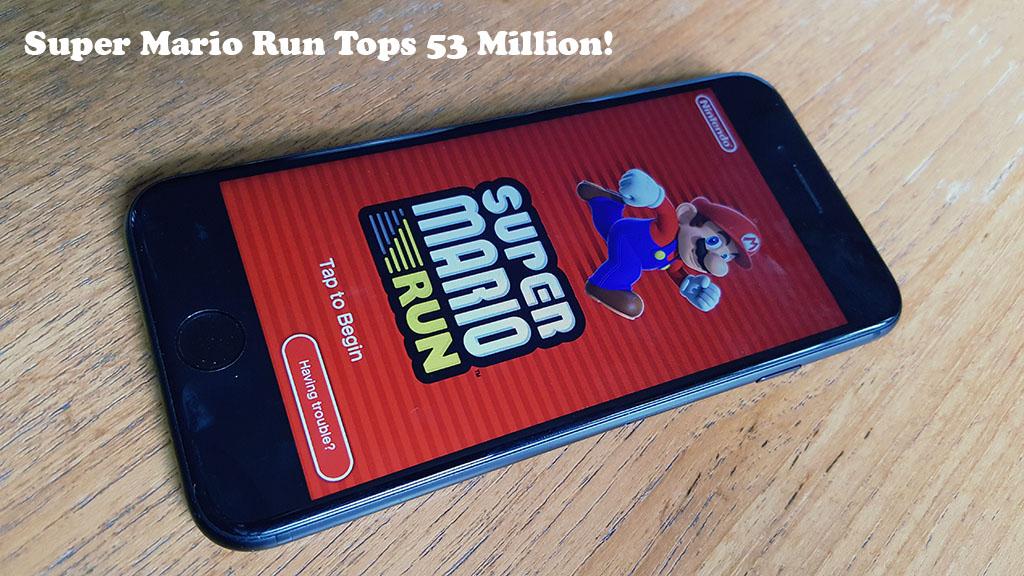 Super Mario Run Earnings Top 53 Million! - Fliptroniks