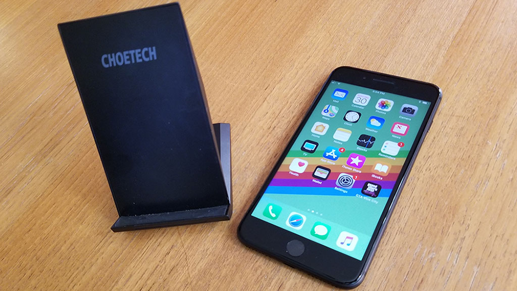 The Choetech Wireless Charger For Iphone 8 Plus Is One Slick Product This A Stand Up Thats Pretty Much Perfect An Office Desk