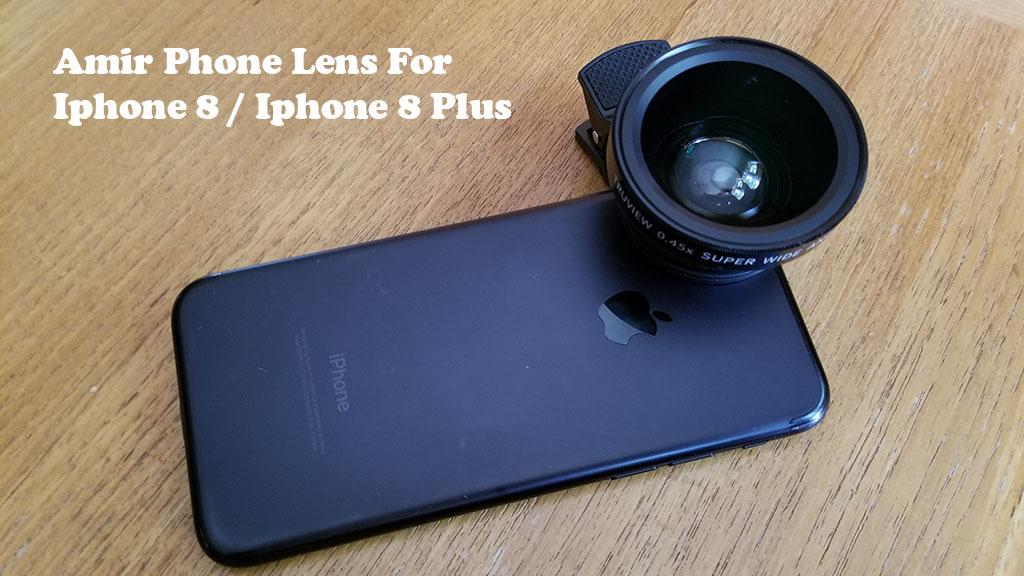 outlet store c6556 2ec5c Amir Lens For Iphone 8 / Iphone 8 Plus - Fliptroniks