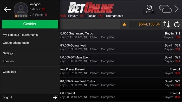 BetOnline Poker Android App Review - Fliptroniks