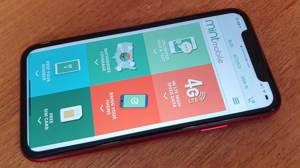 Mint Mobile for Iphone Review - Fliptroniks