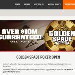 Golden Spade Poker Tournament